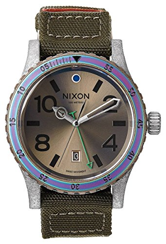 Surplus/Antique Silver The Diplomat Watch by Nixon