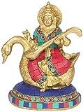 Jaipur Ace Lord Sarasvati with Stone Decorative Statue