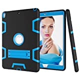 "PC Hardware : Beimu Case For iPad Pro 10.5"" Case 2017, Full-body Heavy Duty Armor Defender Shock-Absorption Impact Resistant PC+Silicone Case with Built-in Kickstand for Apple iPad Pro 10.5 Inch 2017 Model"