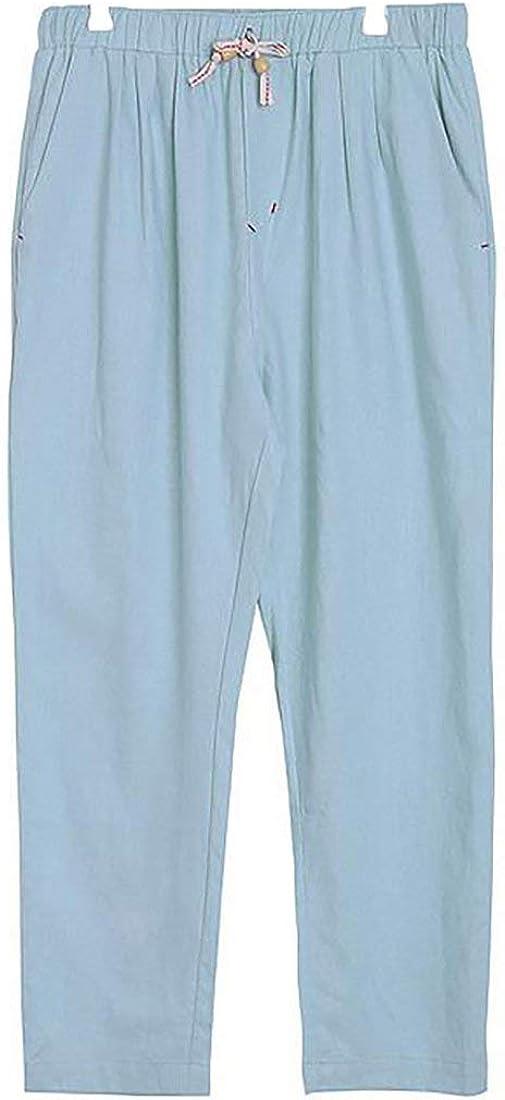 Comaba Mens Elastic Waist Drawstring Plus-Size Big Pockets Printed Yoga Shorts