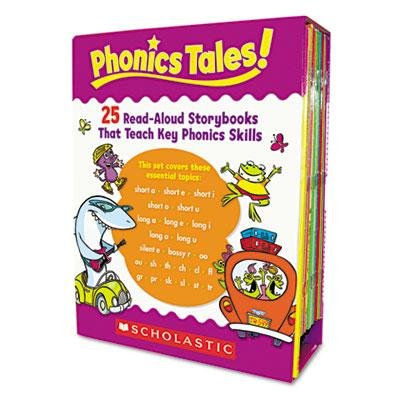 Scholastic - Phonics Tales Read-Aloud Storybooks 25 Books Grades K-2 ''Product Category: Classroom Teaching & Learning Materials/Reading & Writing Materials'' by Original Equipment Manufacture