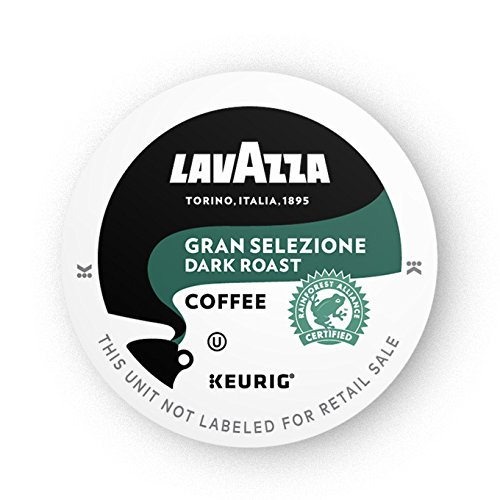 Lavazza Gran Selezione Single-Serve Coffee K-Cups for Keurig Brewer, Dark Roast, 16-Count Box