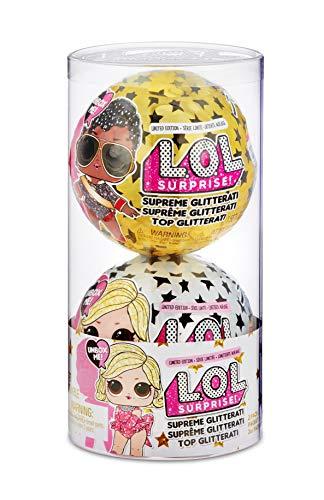 L.O.L. Surprise Supreme Glitterati Muñeca, Pack de 2