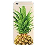 one direction 5sos iphone 6 case - iPhone 6 / 6S Case, Deco Fairy Ultra Slim Rubber Silicone TPU Back Cover for Apple - Summer Upper Pineapple