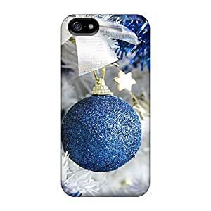New Style Case Cover XXRPnYB3162rqNiP Christmas And Happy New Year Christmas Decorations 94 Compatible With Iphone 5/5s Protection Case