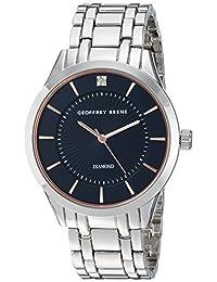 Geoffrey Beene Men's Quartz Metal and Alloy Dress Watch, Color Silver-Toned (Model: GB8148SL)