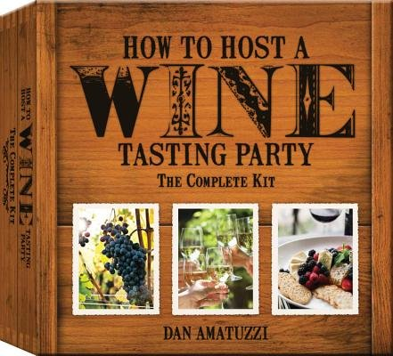 Cheese Kit Party Tasting (How to Host a Wine Tasting Party( The Complete Kit [With Book(s) and Wine-Aroma Wheel Wine-And-Cheese Wheel 4 Tags and 4 Tasting Notepads])[HT HOST A WINE TASTING PARTY][Other])