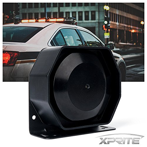 att High Performance Extra Slim Siren Speaker (Capable with Any 100 - 200 Watt Siren) (200w Horn)