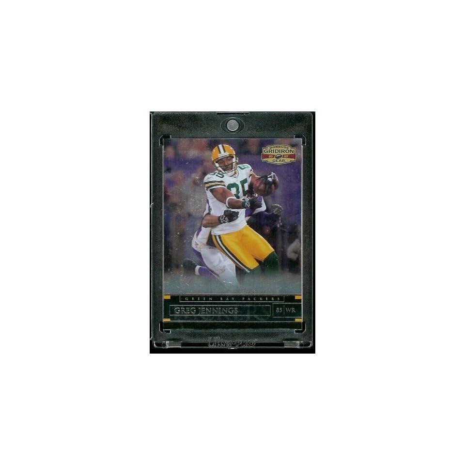 com 2007 Donruss Gridiron Gear # 22 Greg Jennings   Green Bay Packers