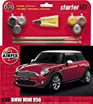 Airfix BMW Mini Cooper S Gift Set (1:32 Scale) from Hornby