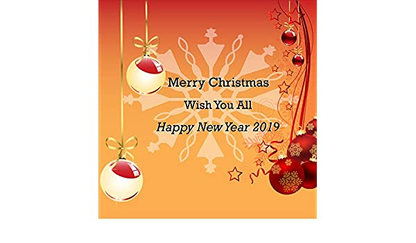 Merry Christmas and a Happy New Year to You Vinyl Banner Eve Party Decor Sign