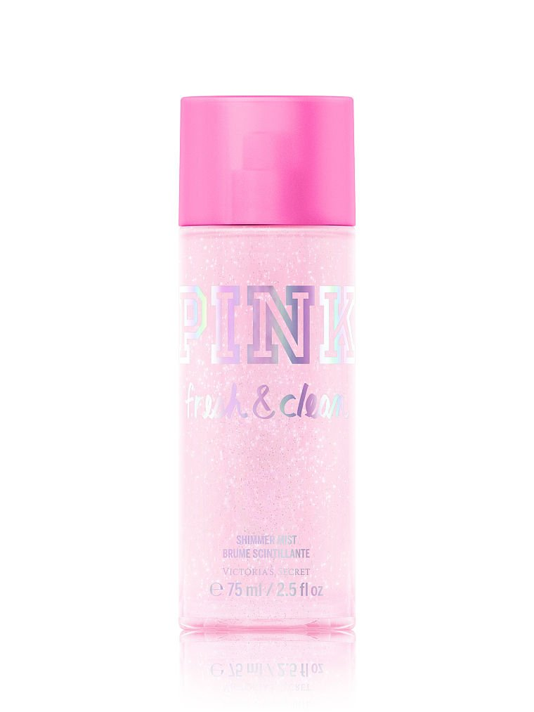 Victoria's Secret PINK Fresh & Clean Shimmer Mist 250ml 8.4 oz Victoria's Secret