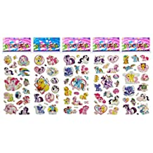 3 Sheets Puffy Dimensional Scrapbooking Party Stickers-FREE USA SHIPPING - MY LITTLE PONY