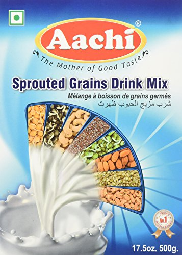 Aachi, Sprouted Grains Drink Mix, 500 Grams(gm) by Aachi