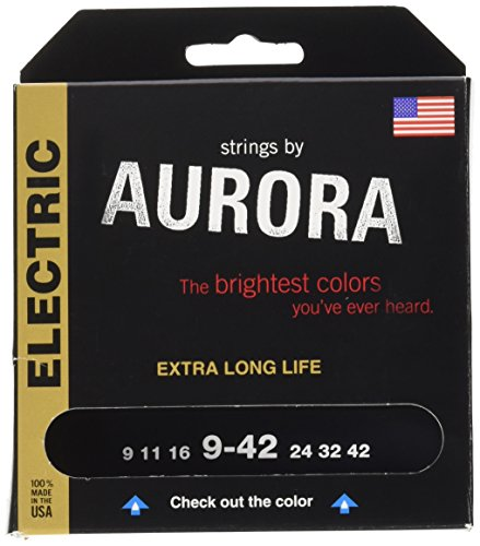 Aurora Strings AURPP9-42 9-42 Electric Guitar Strings, - Stores Aurora
