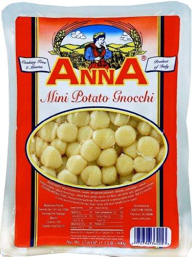 Anna - Italian Mini Potato Gnocchi, (4)- 17.5 oz. Pkgs ()