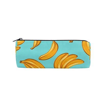 BONIPE - Estuche para lápices, diseño de plátano, para ...