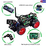 SunFounder Raspberry Pi Smart Video Robot Car Kit