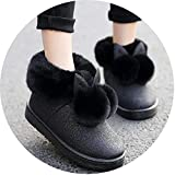 Kingwhisht Women Lovely Rabbit Ears Soft Home Boots Cotton Warm Women Winter Boots