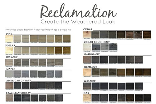 """Quart """"Reclamation"""" a Weatherwood Stain"""