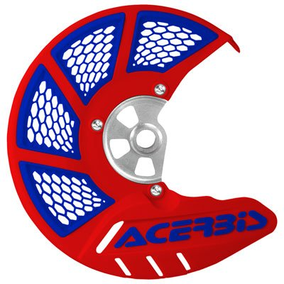(Acerbis X-Brake Vented Front Disc Cover (RED/Blue))