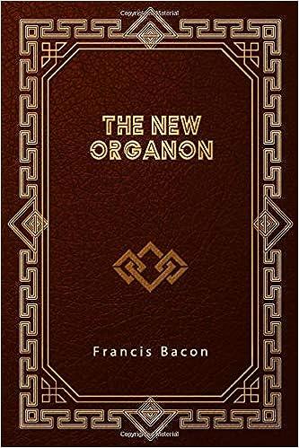 bacon the new organon book one