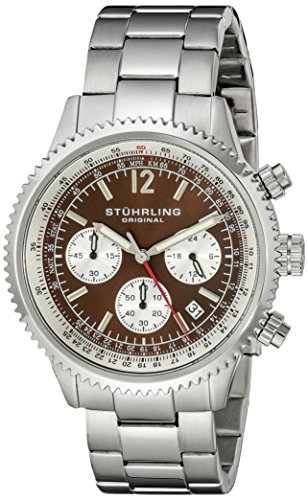 Stuhrling Original Men's 669B.03 Monaco Multi-Function Date