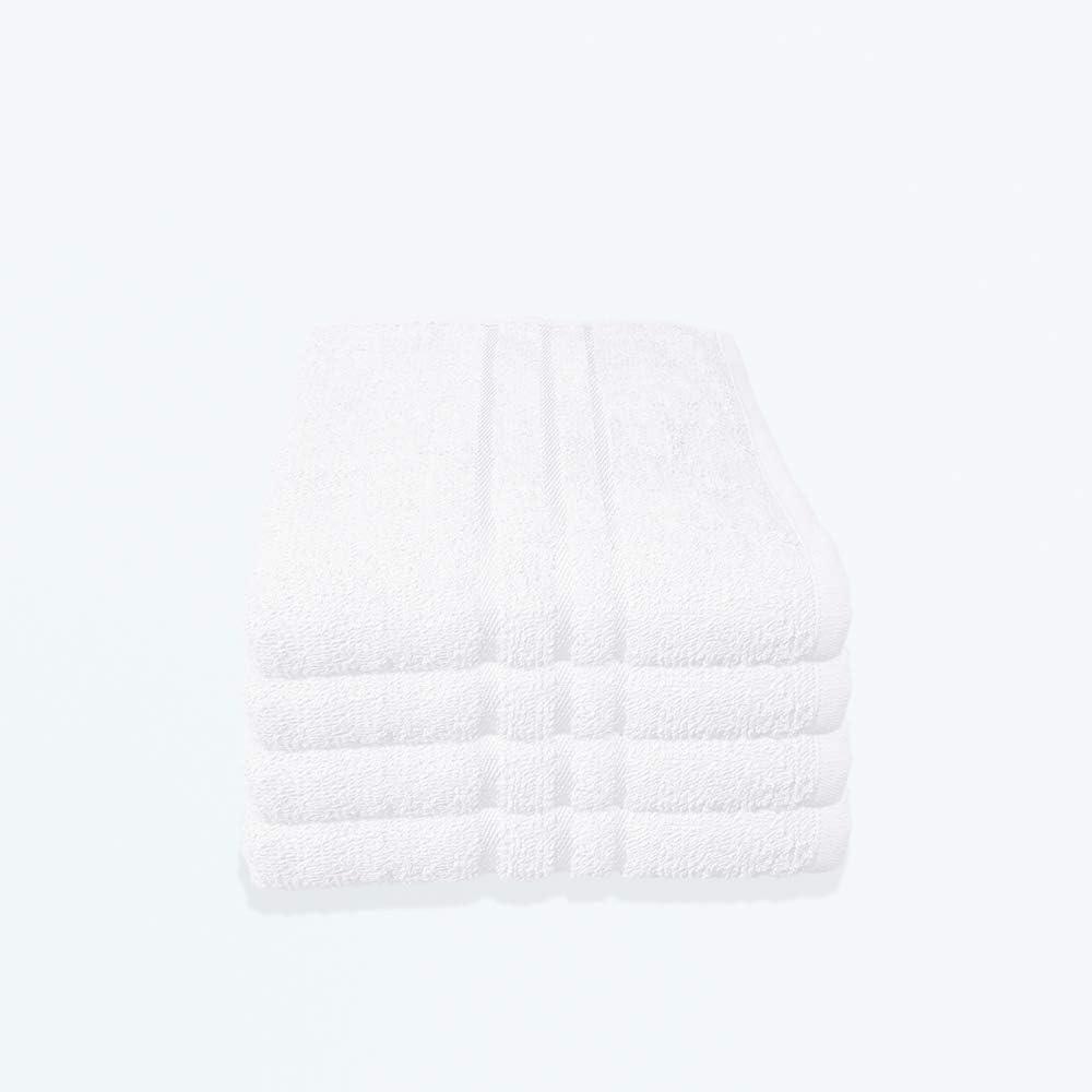 15x21 cm 480 g//m/² Beige Styleheim 4er St/ück Waschlappen Waschhandschuh Frottier aus Baumwolle ca