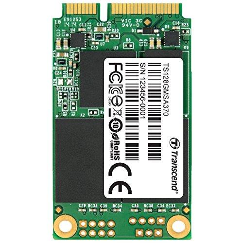 Transcend 128GB SATA III 6Gb/s MSA370 mSATA Solid State Drive (TS128GMSA370) by Transcend