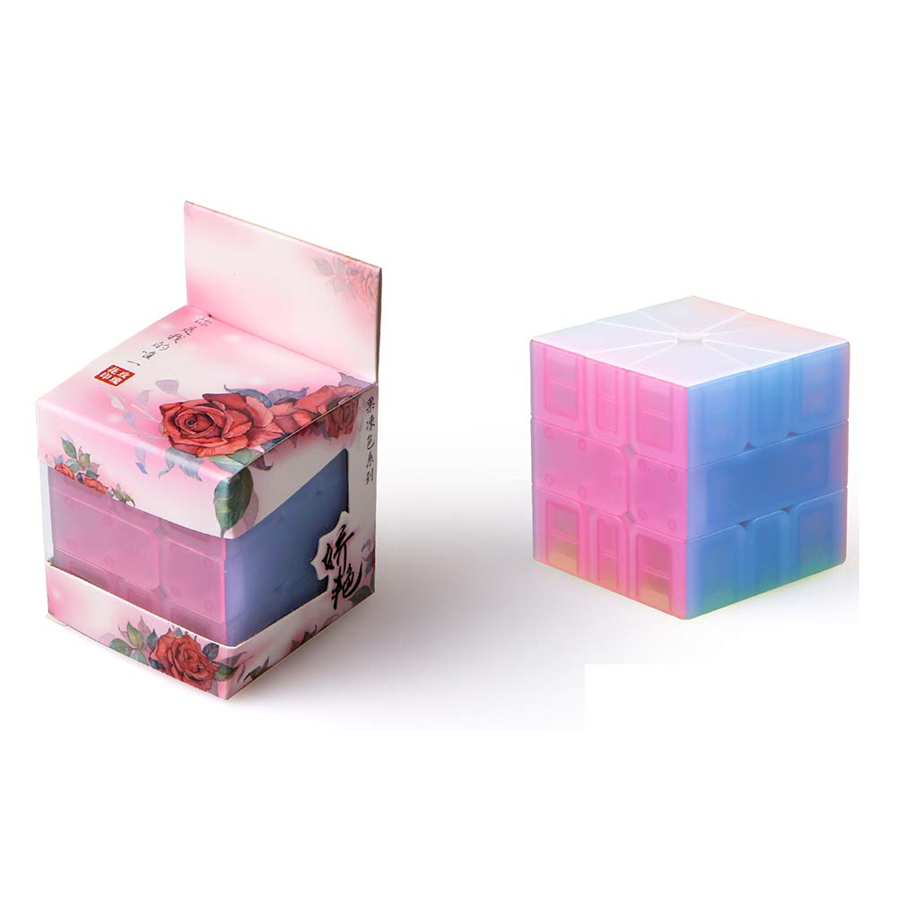 JIAAE Inspire SQ1 Rubik's Cube Children Puzzle Professional Competition Smooth Rubik Toy,Jelly by JIAAE (Image #2)