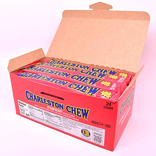 Charleston Chews, Strawberry, 1.875 Ounce Bars (Pack of 24)