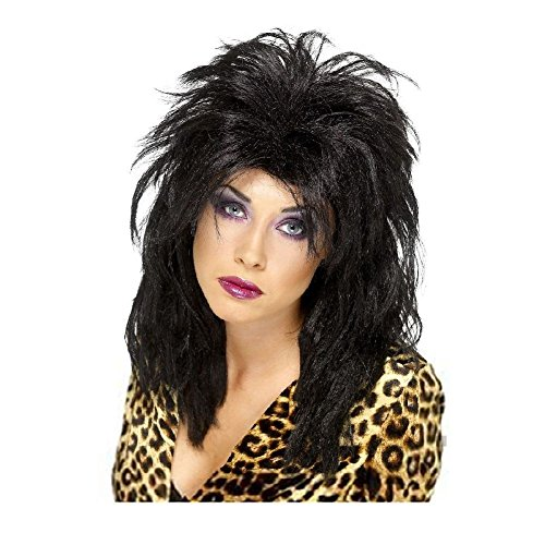 [80s Popstar Wig Costume Accessory Adult Halloween] (70s Pop Stars Costumes)