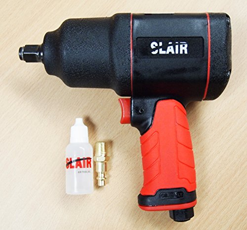 SLAIR 1/2″ Composite Twin Hammer Air Impact Wrench Max Torque 1050ft/lb XX-785 For Sale