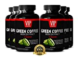 Excellent Fat Burner Green Coffee - Natural Green Coffee Beans Extract for Weight Loss (6 Bottles 360 Capsules)