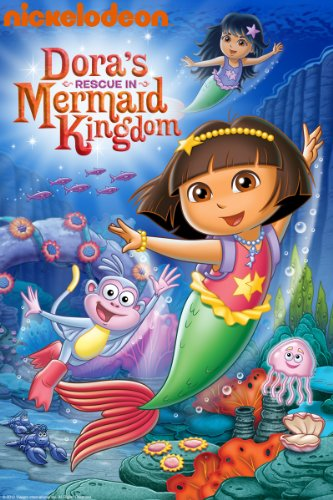 DVD : Dora's Rescue in Mermaid Kingdom