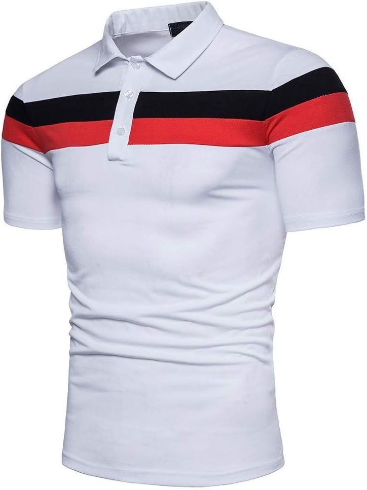 NISHISHOUZI Polo,Transpirable Camisetas Polo Manga Corta Hombre ...