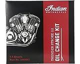 Indian Thunder Stroke Oil Change Kit 5.5 Qts. - 2880067