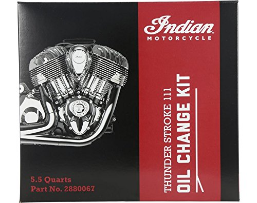 Indian Thunder Stroke Oil Change Kit