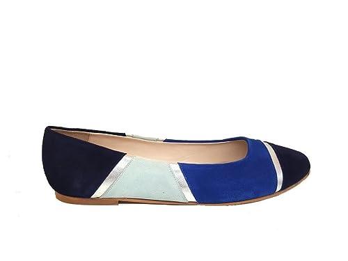 af486de7b16 Bailarinas Planas de Mujer en Piel y Punta Fina Cerrada para Mujer + Tacón  1 cm: Amazon.es: Zapatos y complementos