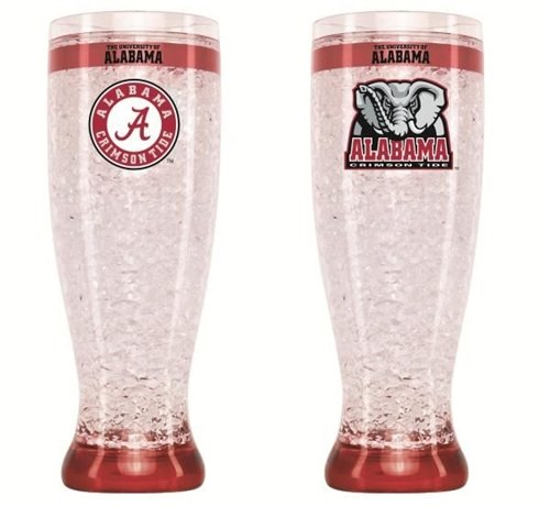Alabama Crimson Tide Crystal Pilsner - Crystal Alabama Tide Crimson