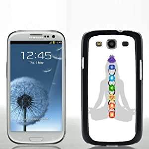 Pink Ladoo? Samsung S3 Case Phone Cover Hard Plastic Chakra Symbols