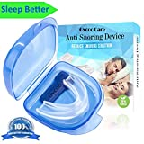 Mouth Guard by Gycoo Anti Snoring & Teeth Grinding Devices Solution Aid with Case for Better Quiet Sleep All the Night