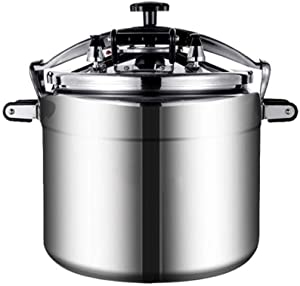 Commercial aluminum pressure cooker large capacity explosion-proof electric pressure cooker family gas stove hot pot special hotel restaurant kitchen 18L / 25L / 33L / 50L