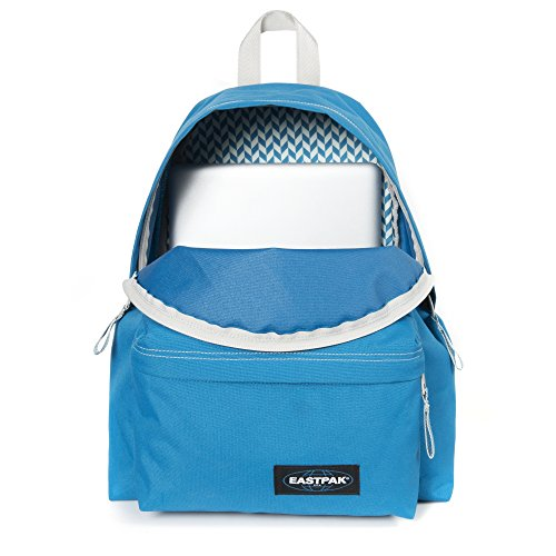Eastpak Padded Pak'r Mochila Tipo Casual, Diseño Side, 24 Litros, Color Azul Side