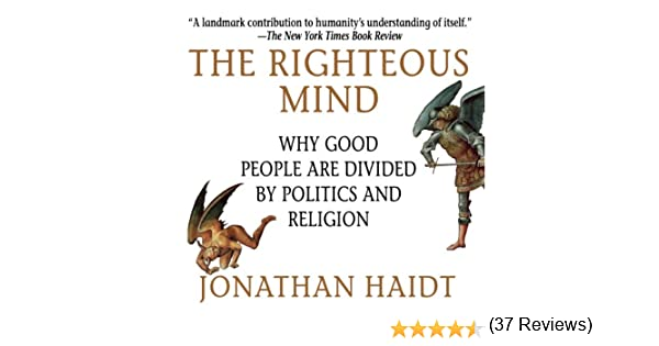 righteous mind audiobook