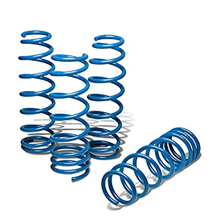 Blue For Nissan Fairlady 370Z Suspension Lowering Spring Z34 G37 V36