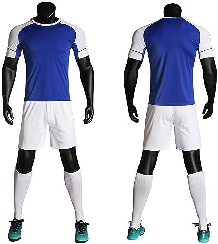 Amazon.com : BUY-TO Mens Football Jersey Soccer Set Kit Men ...