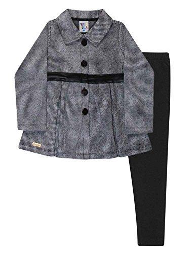 Houndstooth Coat Jacket - 4