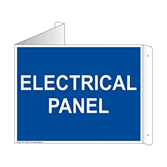 Amazon.com: compliancesigns señal de Panel eléctrico de 3d ...