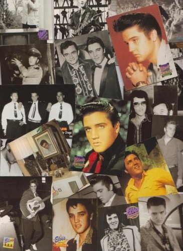 (Elvis Presley / 100 Assorted Collectable Cards - All Different! Free Shipping!!)